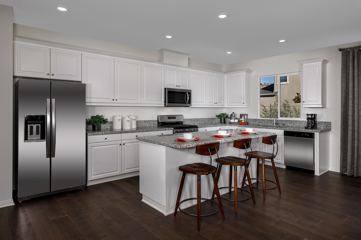 New Homes in Riverside, CA - Belcara at Spring Mountain Ranch Plan 2387 - Kitchen