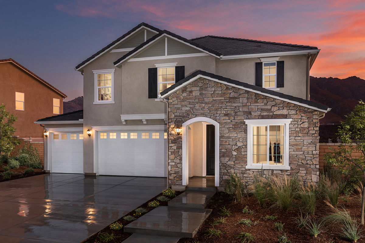 New Homes in Riverside, CA - Belcara at Spring Mountain Ranch Plan 3132