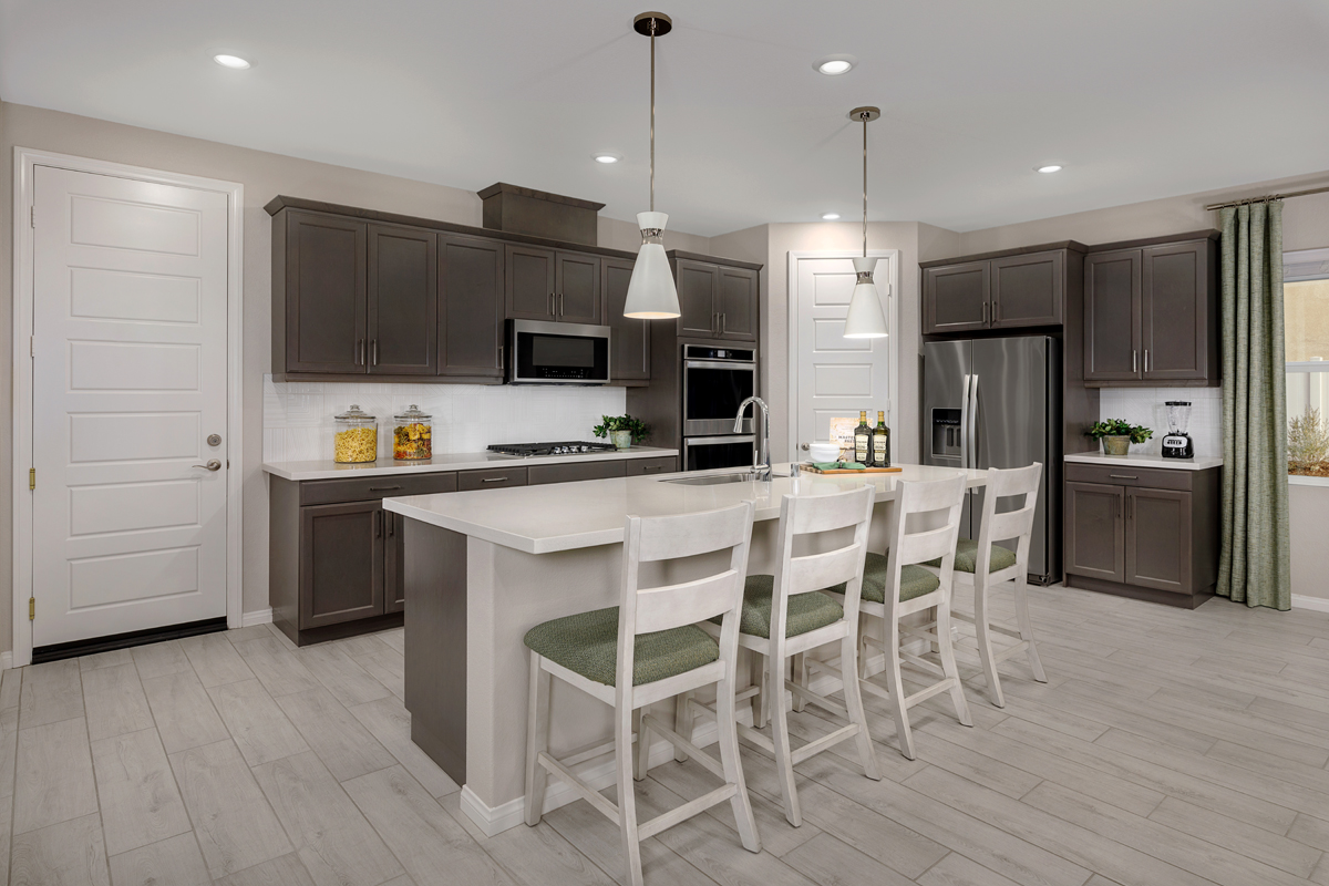 New Homes in Riverside, CA - Belcara at Spring Mountain Ranch Plan 3132 - Kitchen