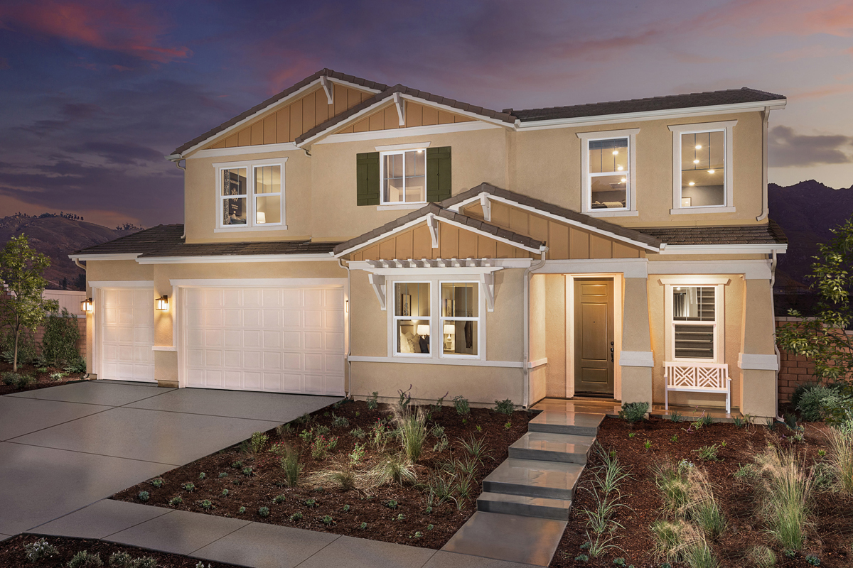 New Homes in Riverside, CA - Belcara at Spring Mountain Ranch Plan 3443