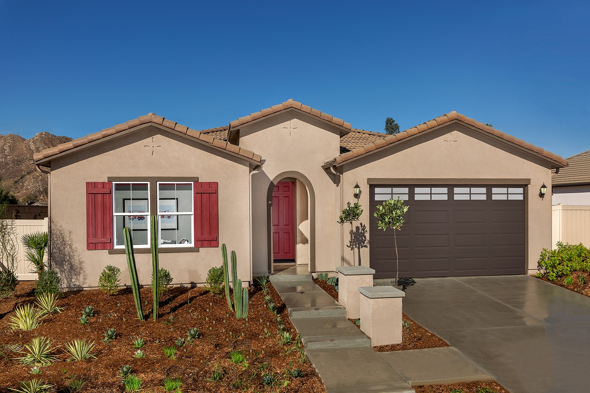 New Homes in Moreno Valley, CA - Boulder Ridge Residence Four
