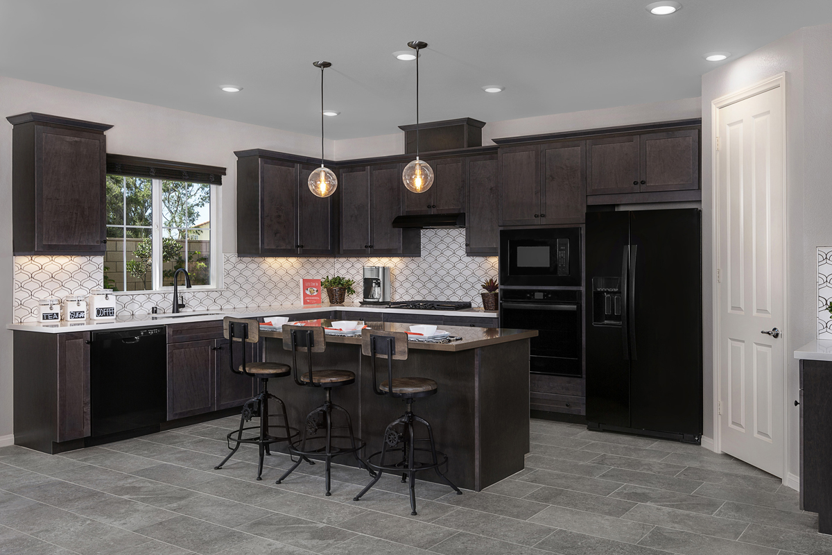 New Homes in Moreno Valley, CA - Boulder Ridge Residence Four - Kitchen