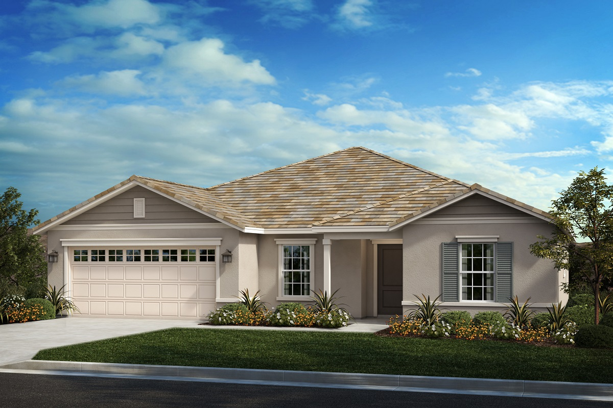 New Homes in Moreno Valley, CA - Boulder Ridge Residence Three - Traditional 'B'