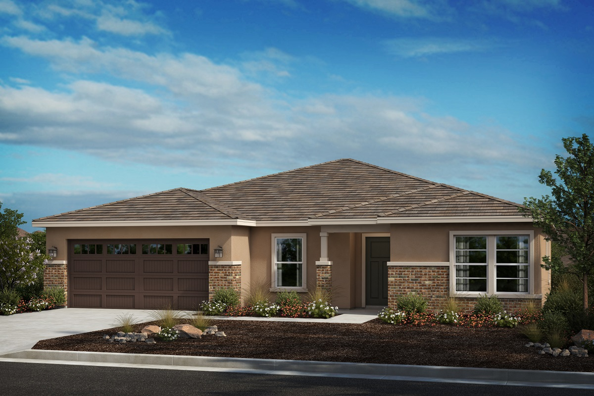New Homes in Moreno Valley, CA - Boulder Ridge Residence Three - Prairie 'C'