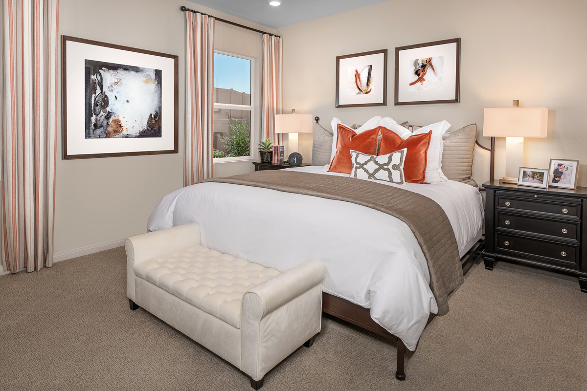 New Homes in Winchester, CA - Camberly Place Residence Seven - Master Bedroom