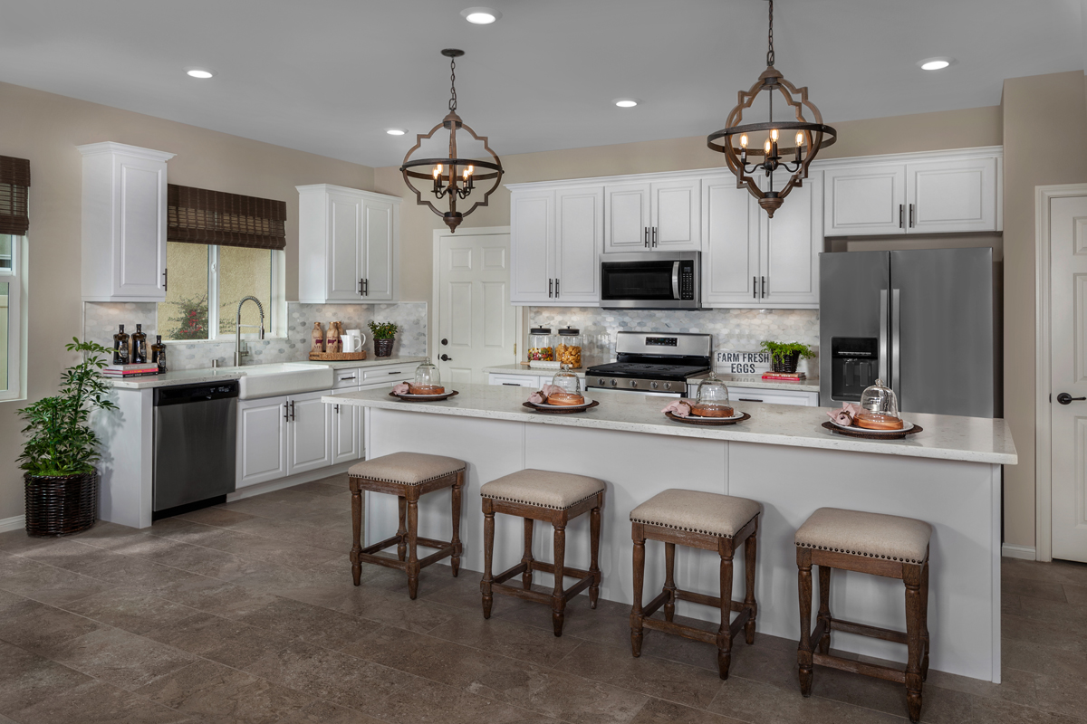 New Homes in Winchester, CA - Camberly Place Residence Four - Kitchen