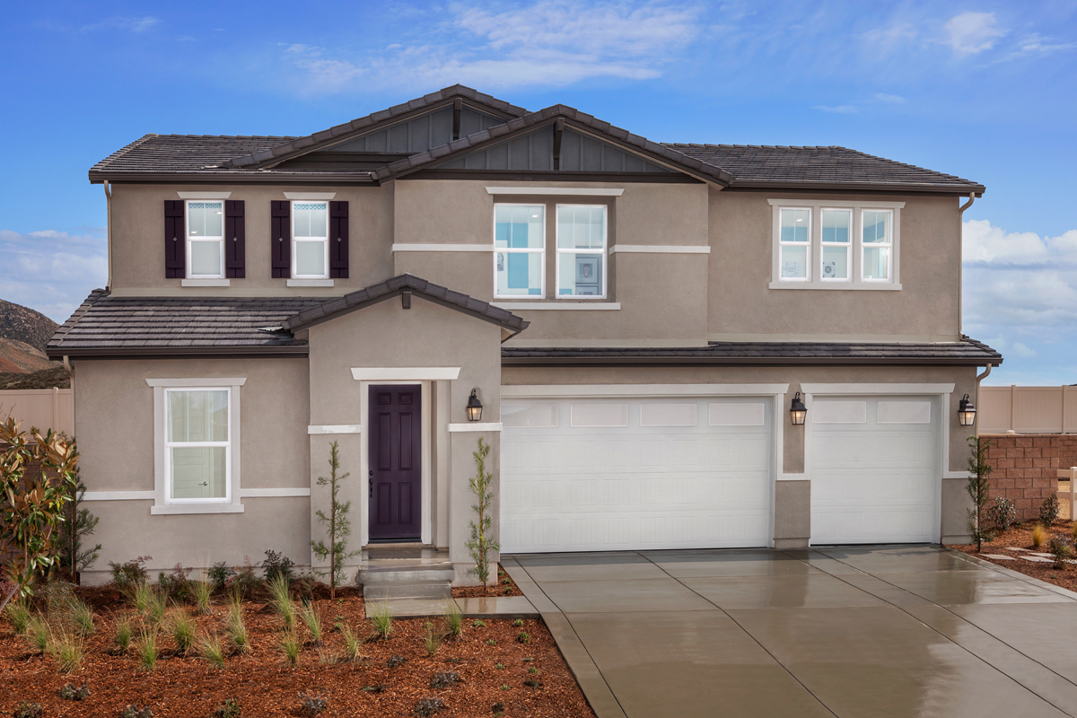 New Homes in Winchester, CA - Residence Six Modeled