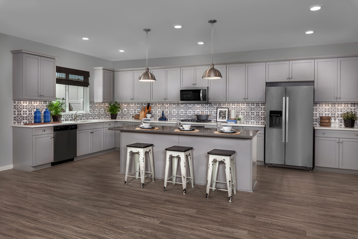 New Homes in Winchester, CA - Camberly Place Residence Two - Kitchen