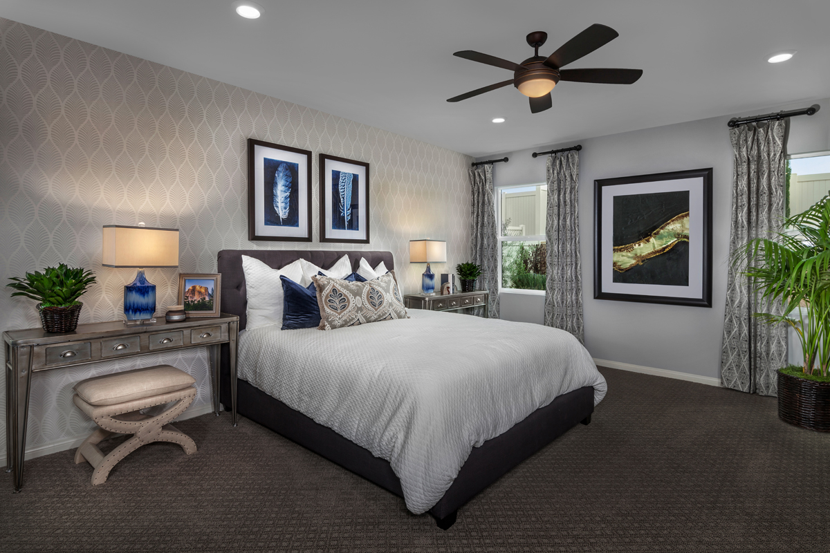 New Homes in Winchester, CA - Camberly Place Residence Two - Master Bedroom