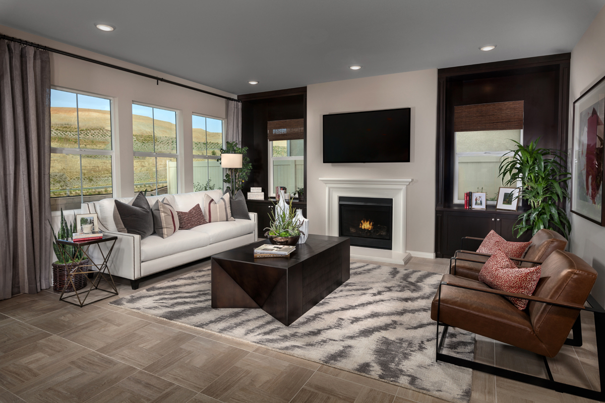 New Homes in Corona, CA - Caraway at Terramor Residence Two - Great Room