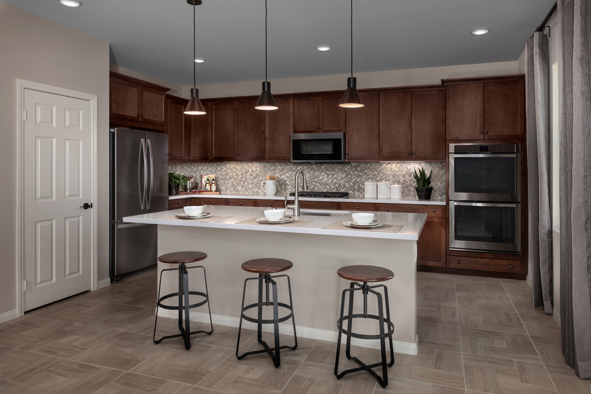 New Homes in Corona, CA - Caraway at Terramor Residence Two - Kitchen