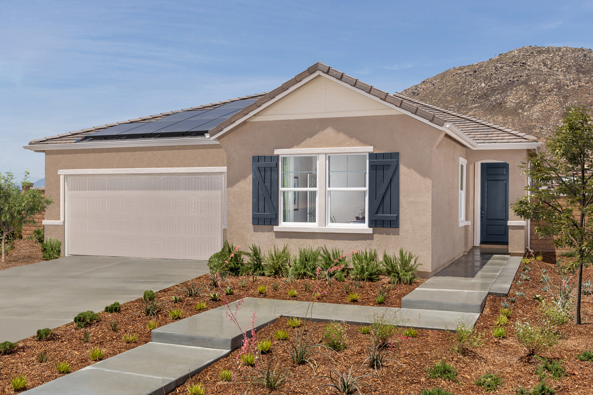 New Homes in Riverside, CA - Carmel Ridge at Spring Mountain Ranch Residence One