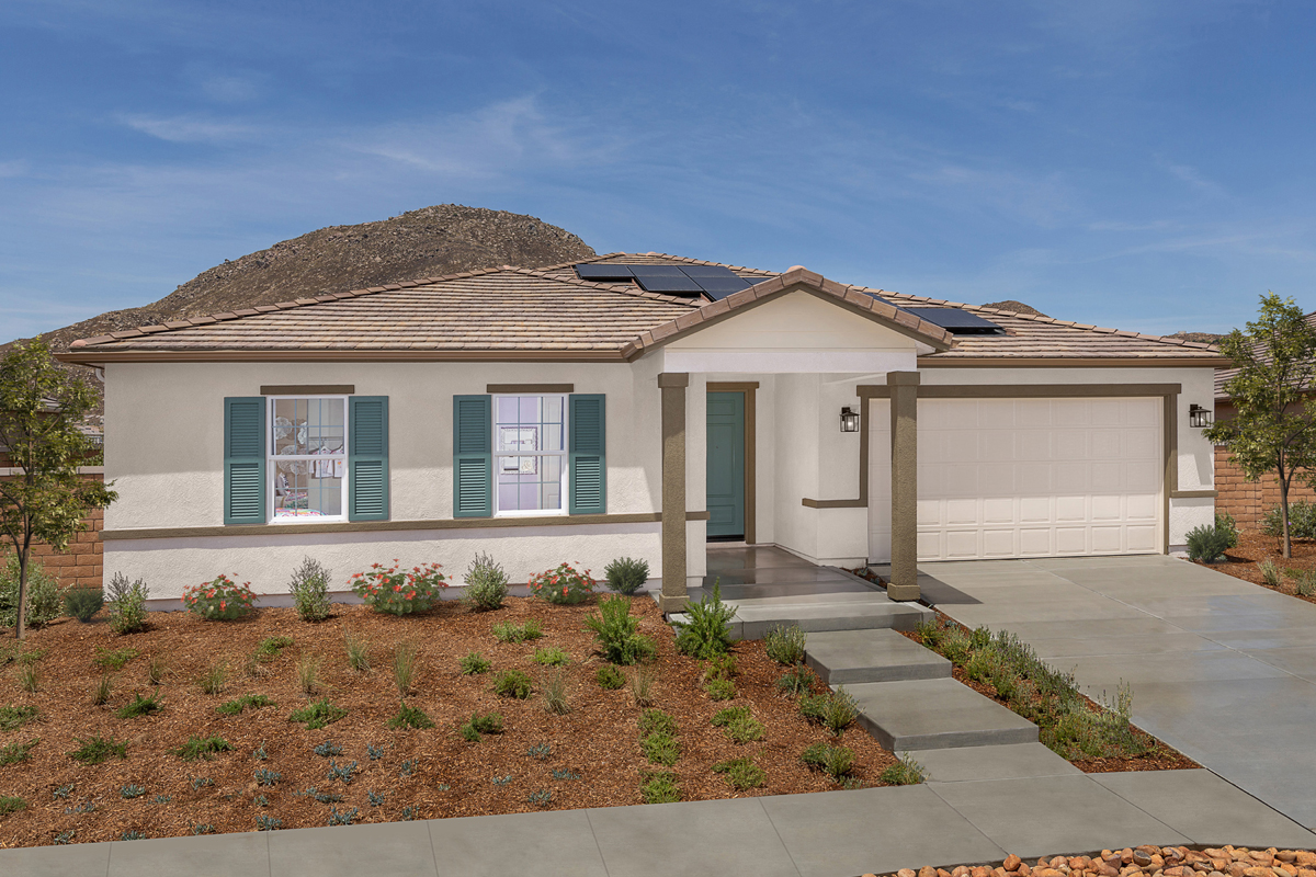 New Homes in Riverside, CA - Carmel Ridge at Spring Mountain Ranch Residence Three