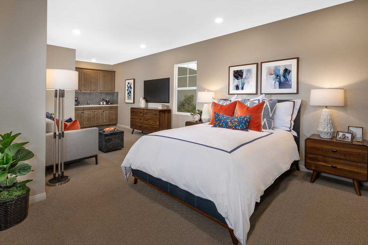 New Homes in Riverside, CA - Carmel Ridge at Spring Mountain Ranch Residence Five - Junior Suite