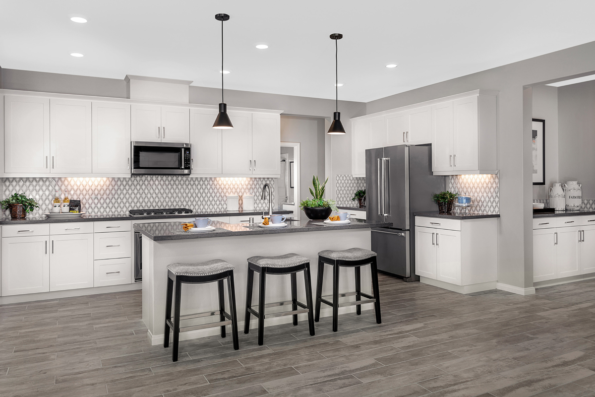 New Homes in Riverside, CA - Carmel Ridge at Spring Mountain Ranch Residence Six - Kitchen