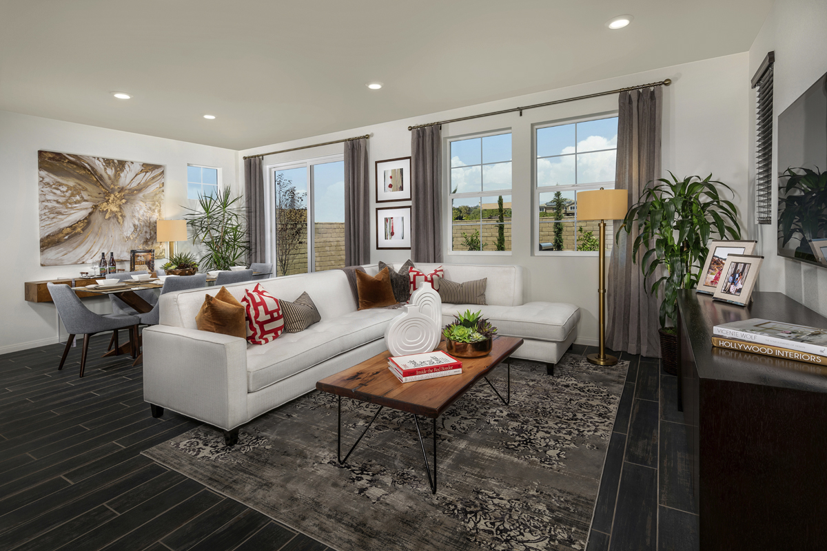 New Homes in Murrieta, CA - Westpark Residence 1557 - Great Room