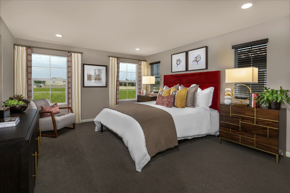 New Homes in Murrieta, CA - Westpark Residence 1557 - Master Bedroom