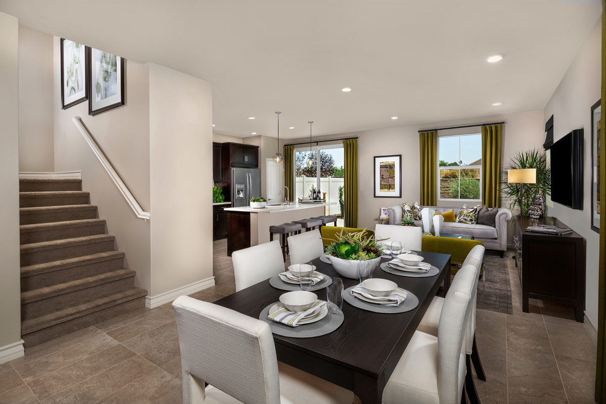New Homes in Murrieta, CA - Westpark Residence 1750 - Great Room