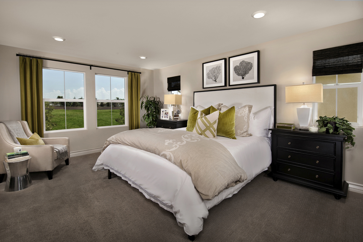 New Homes in Murrieta, CA - Westpark Residence 1750 - Master Bedroom