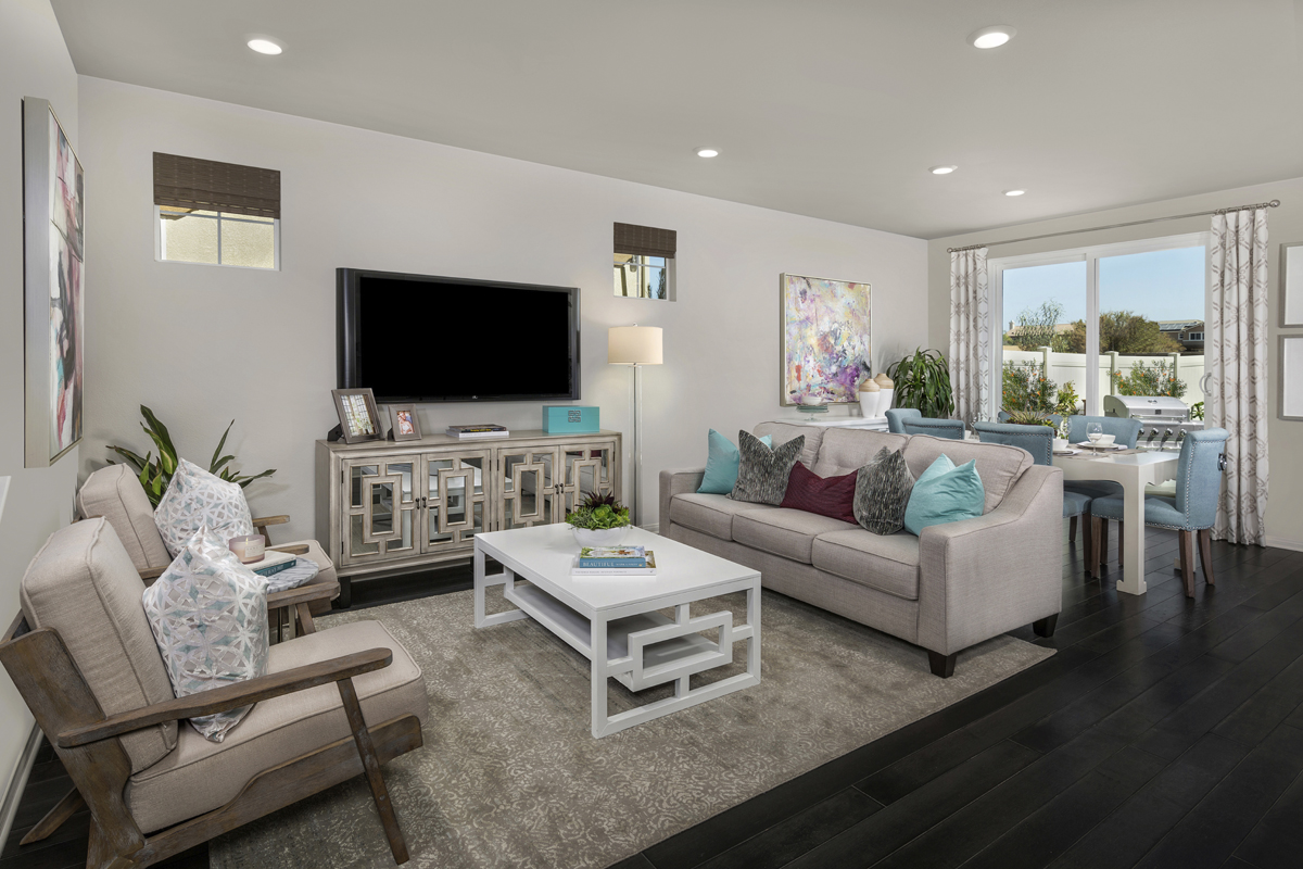 New Homes in Murrieta, CA - Westpark Residence 2028 - Great Room