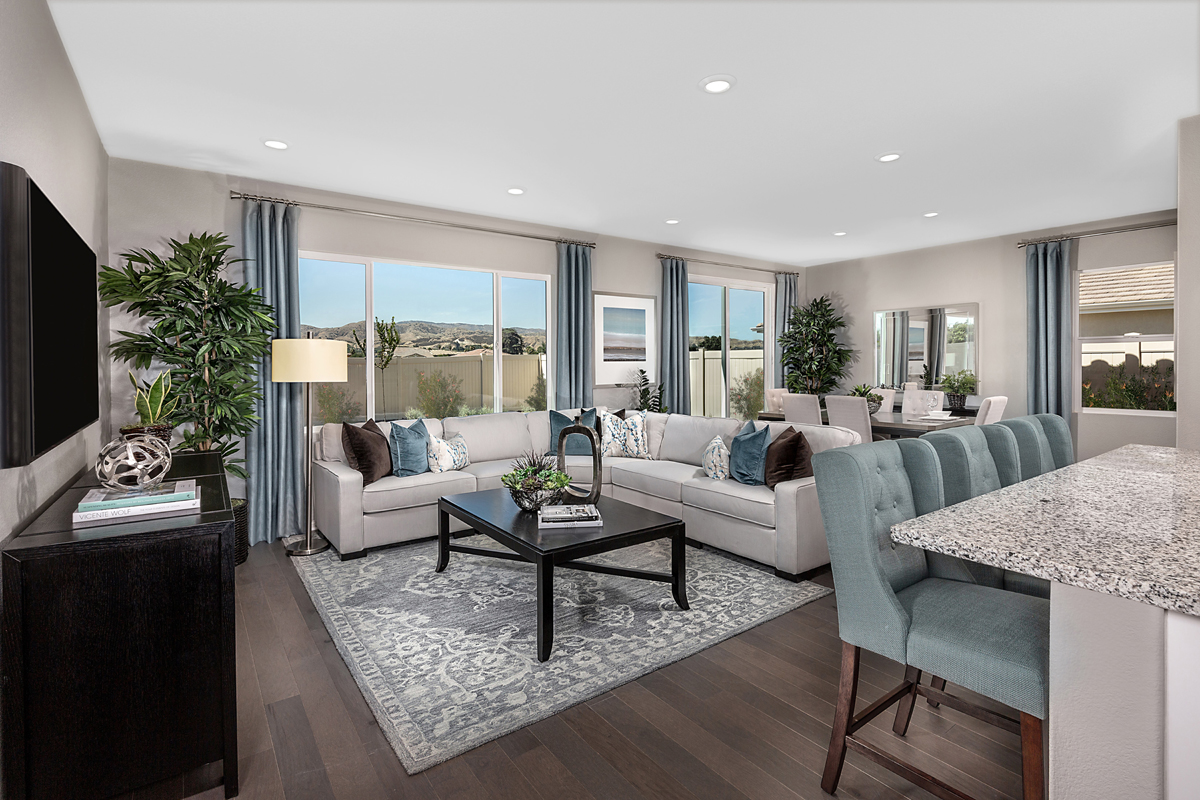 New Homes in Loma Linda, CA - Citrus Glen Residence 1481 - Great Room