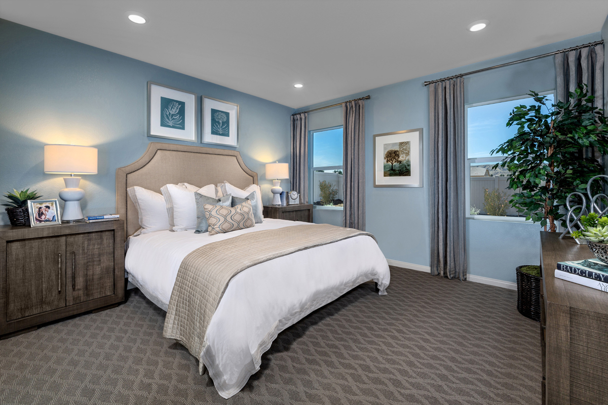 New Homes in Loma Linda, CA - Citrus Glen Residence 1481 - Master Bedroom