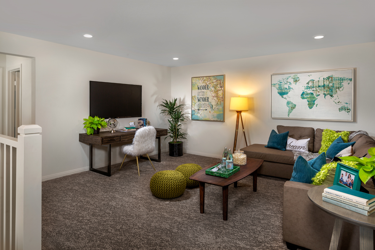 New Homes in Loma Linda, CA - Citrus Glen Residence 2438 - Bonus Room