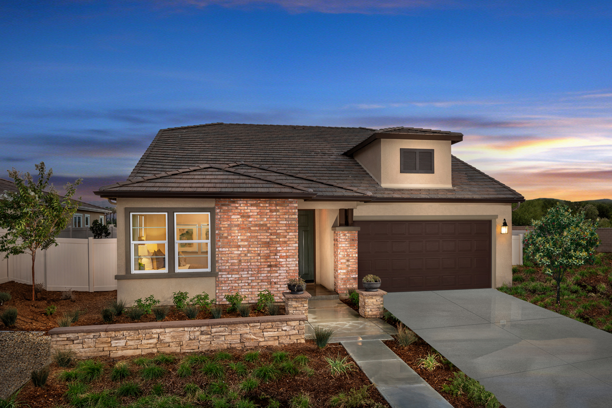 New Homes in Loma Linda, CA - Citrus Glen Residence 2438 Modeled