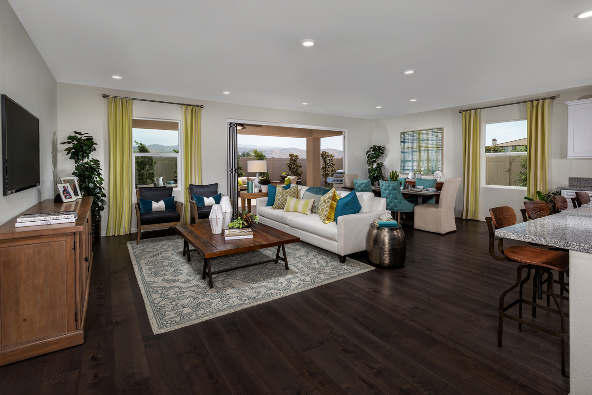 New Homes in Loma Linda, CA - Citrus Glen Residence 2438 - Great Room