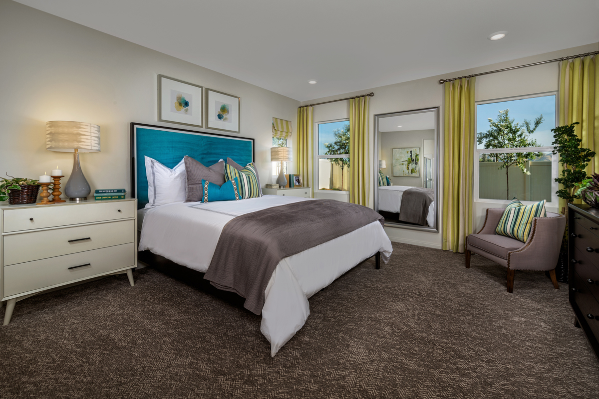 New Homes in Loma Linda, CA - Citrus Glen Residence 2438 - Master Bedroom