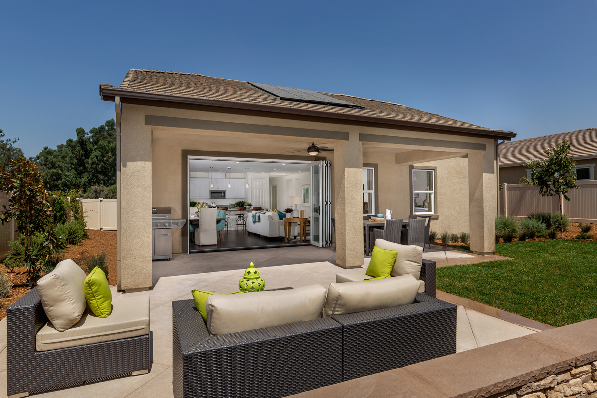 New Homes in Loma Linda, CA - Citrus Glen Residence 2438 - Patio