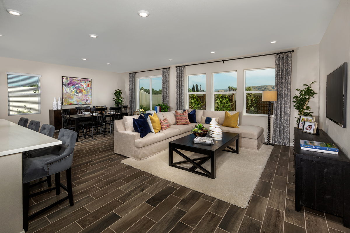 New Homes in Loma Linda, CA - Citrus Glen Residence 2507 - Great Room