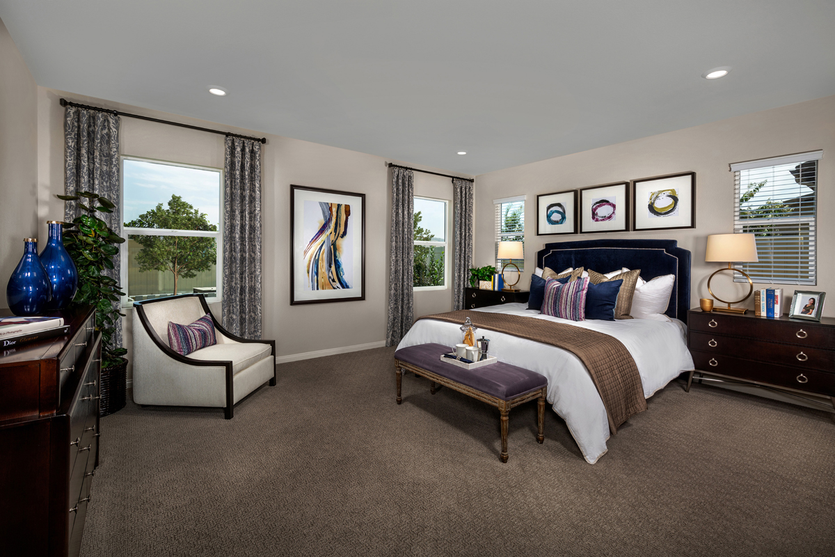 New Homes in Loma Linda, CA - Citrus Glen Residence 2507 - Master Bedroom