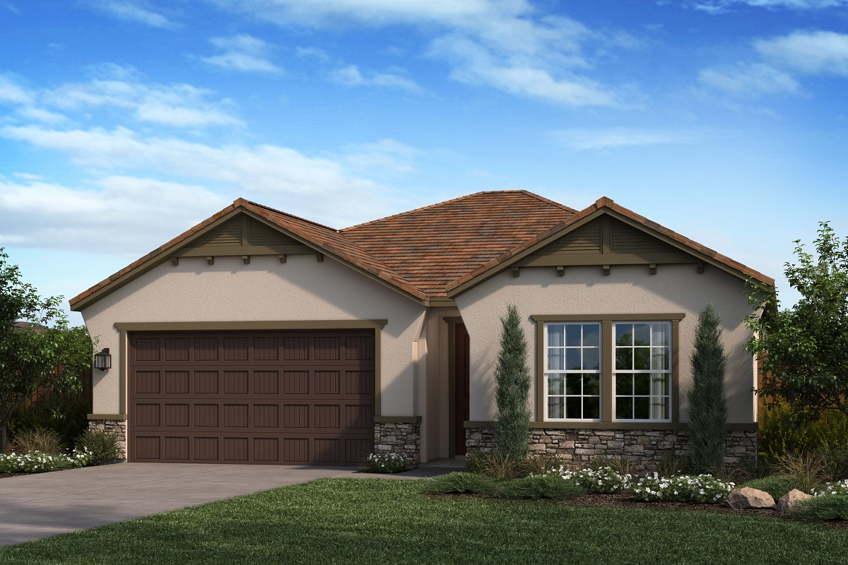 New Homes in Ontario Ranch, CA - Elevation D