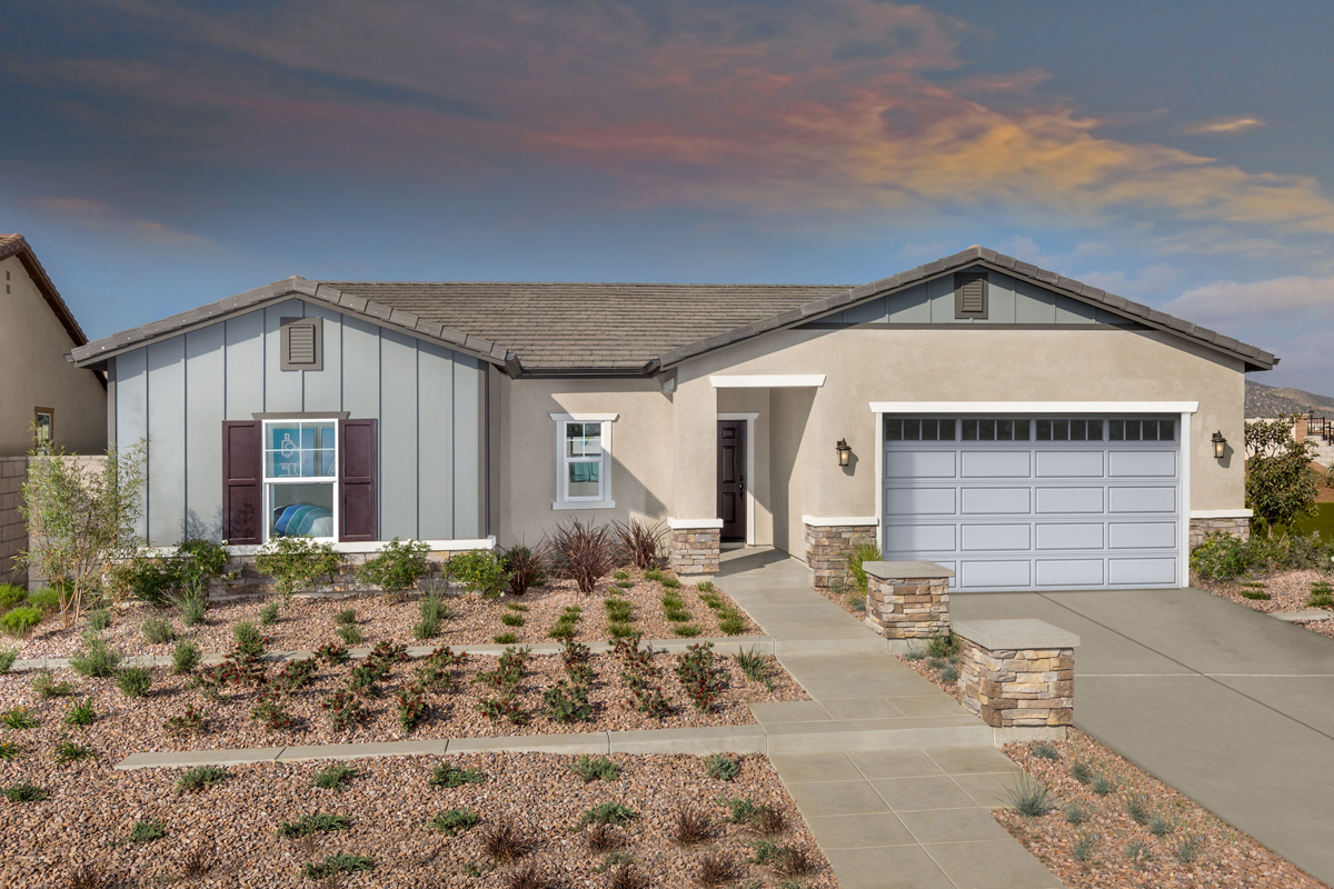 New Homes in Menifee, CA - Cypress at Hidden Hills Residence 1860