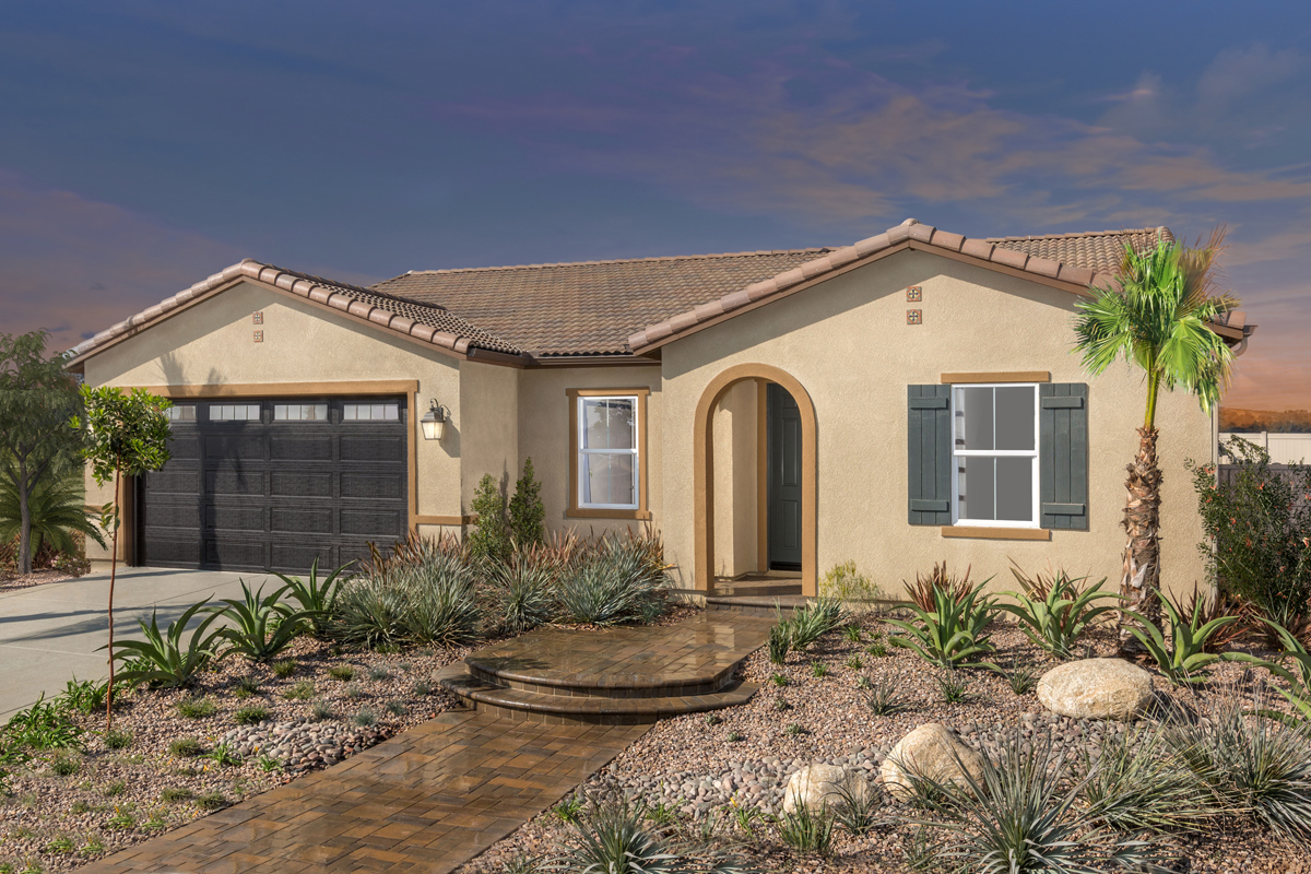 Residence 2091 Modeled New Home Floor Plan In Cypress At Hidden Hills By Kb Home
