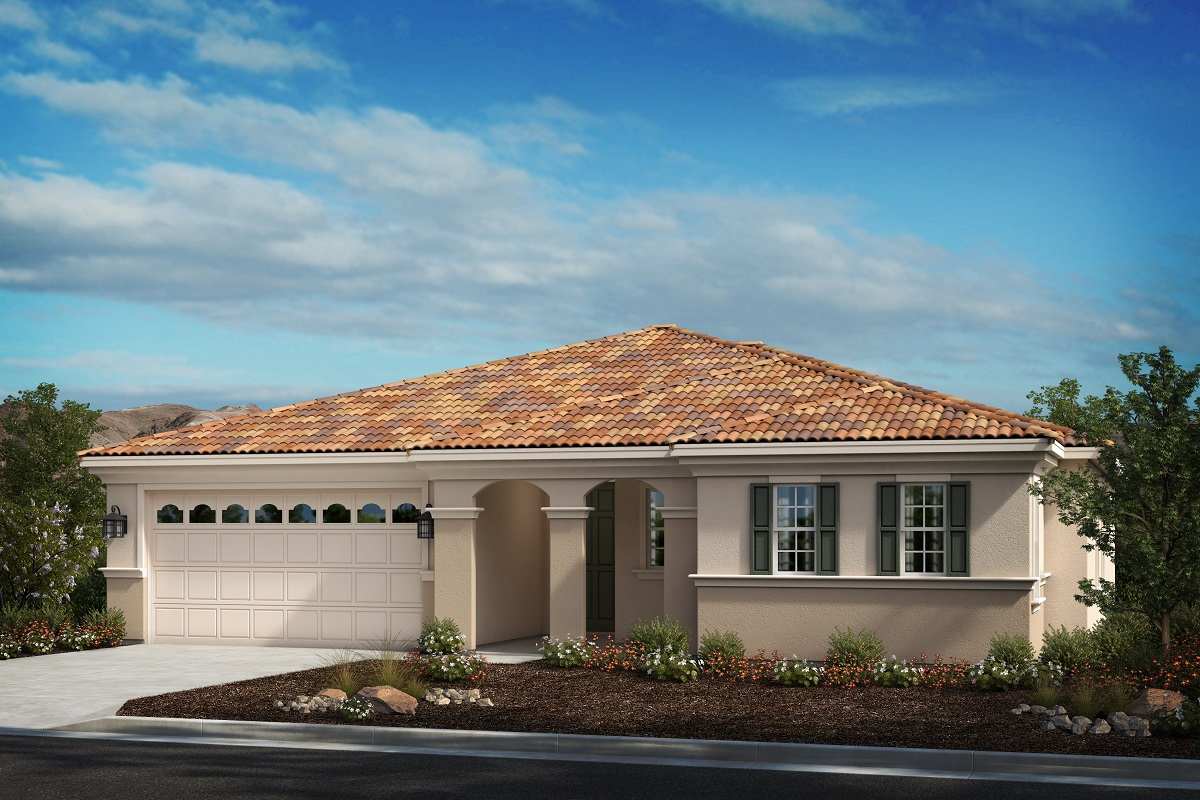 New Homes in Moreno Valley, CA - Italianate 'D