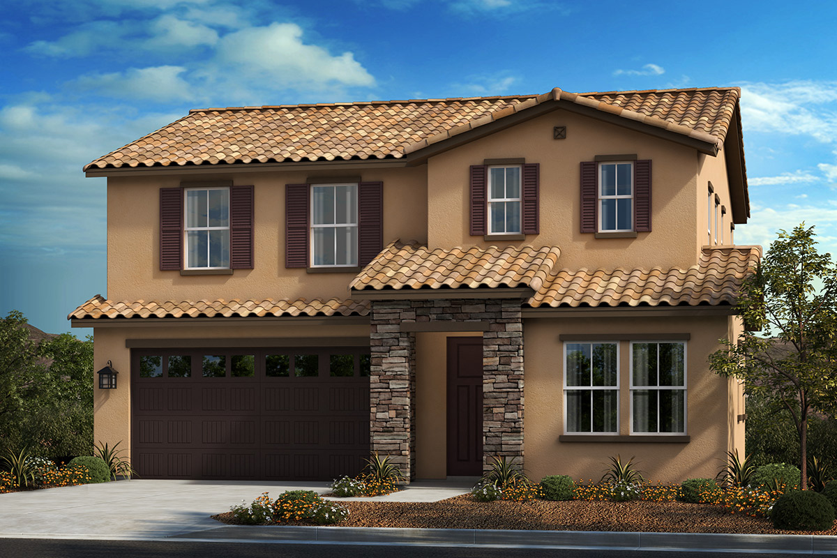 New Homes in Moreno Valley, CA - Tuscan 'B'