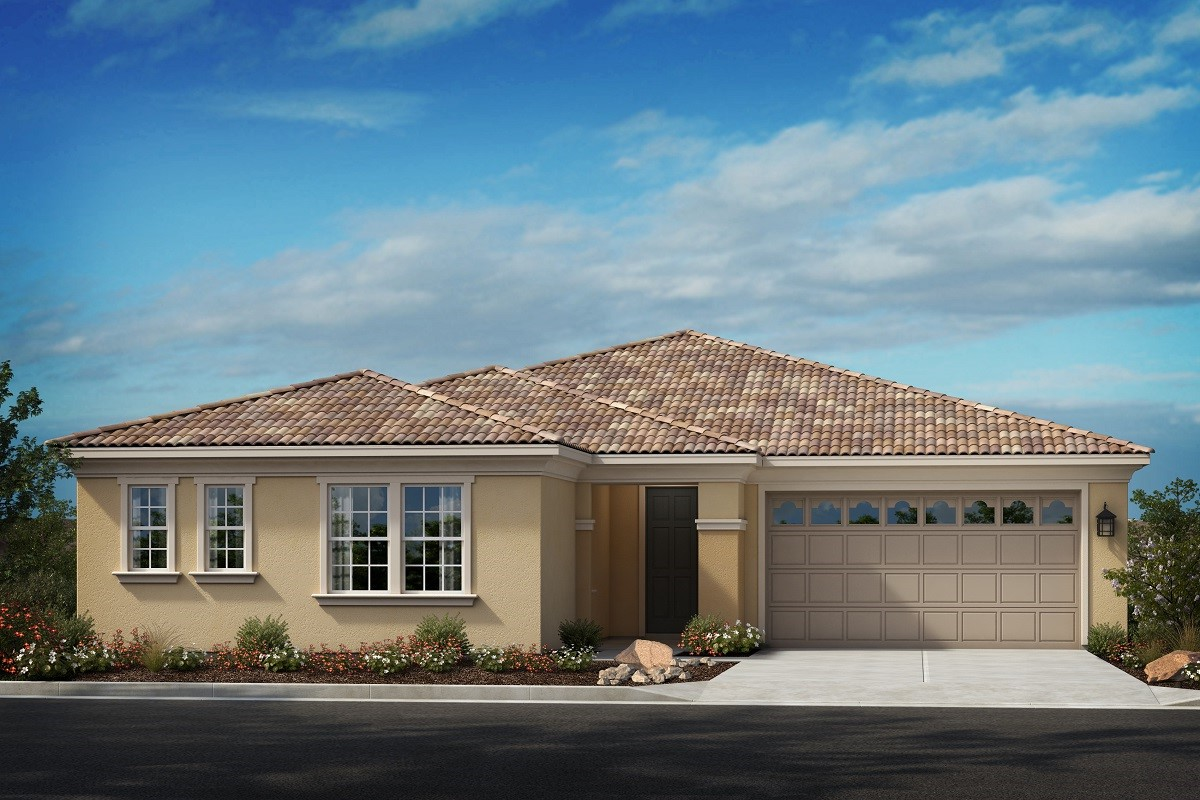 New Homes in Moreno Valley, CA - Italianate 'D' with Jr. Suite