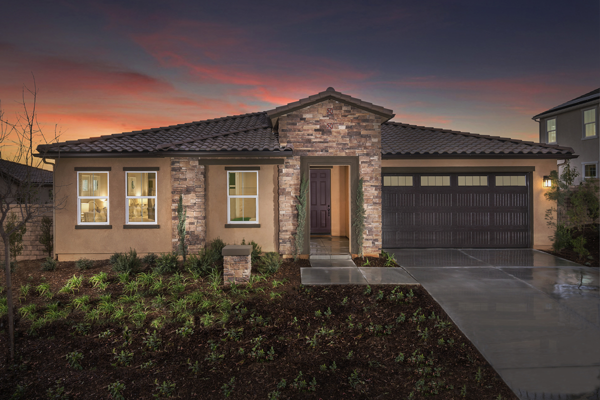 New Homes in Moreno Valley, CA - Residence 2977 Modeled