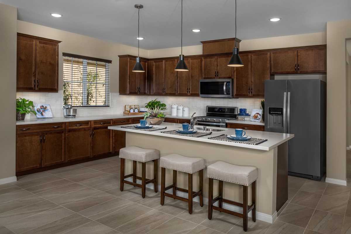 New Homes in Moreno Valley, CA - Daybreak Residence 2159 - Kitchen