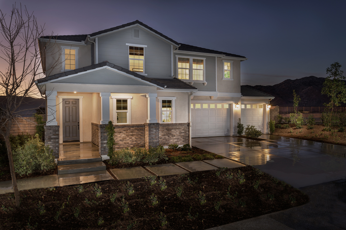 New Homes in Moreno Valley, CA - Residence 2854 Modeled