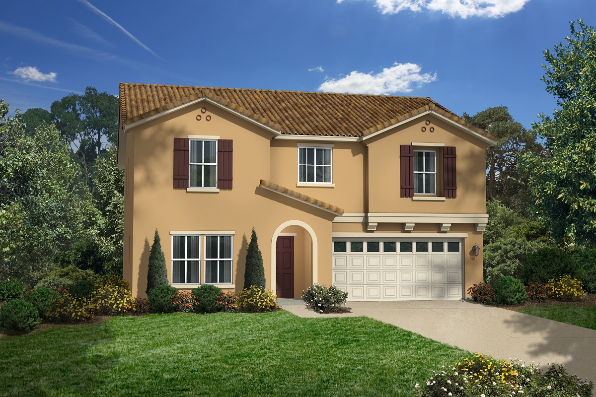 New Homes in San Jacinto, CA - Elevation A