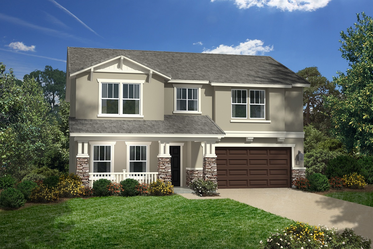 New Homes in San Jacinto, CA - Eagle's Crest at The Cove Plan 2528 Elevation C