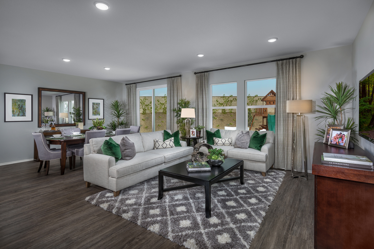 New Homes in Victorville, CA - Falcon Ridge Residence 1779 - Great Room