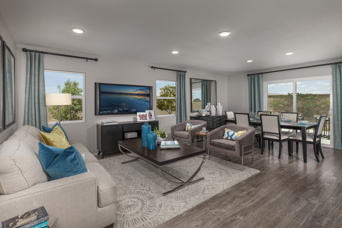 New Homes in Victorville, CA - Falcon Ridge Residence 1901 - Great Room