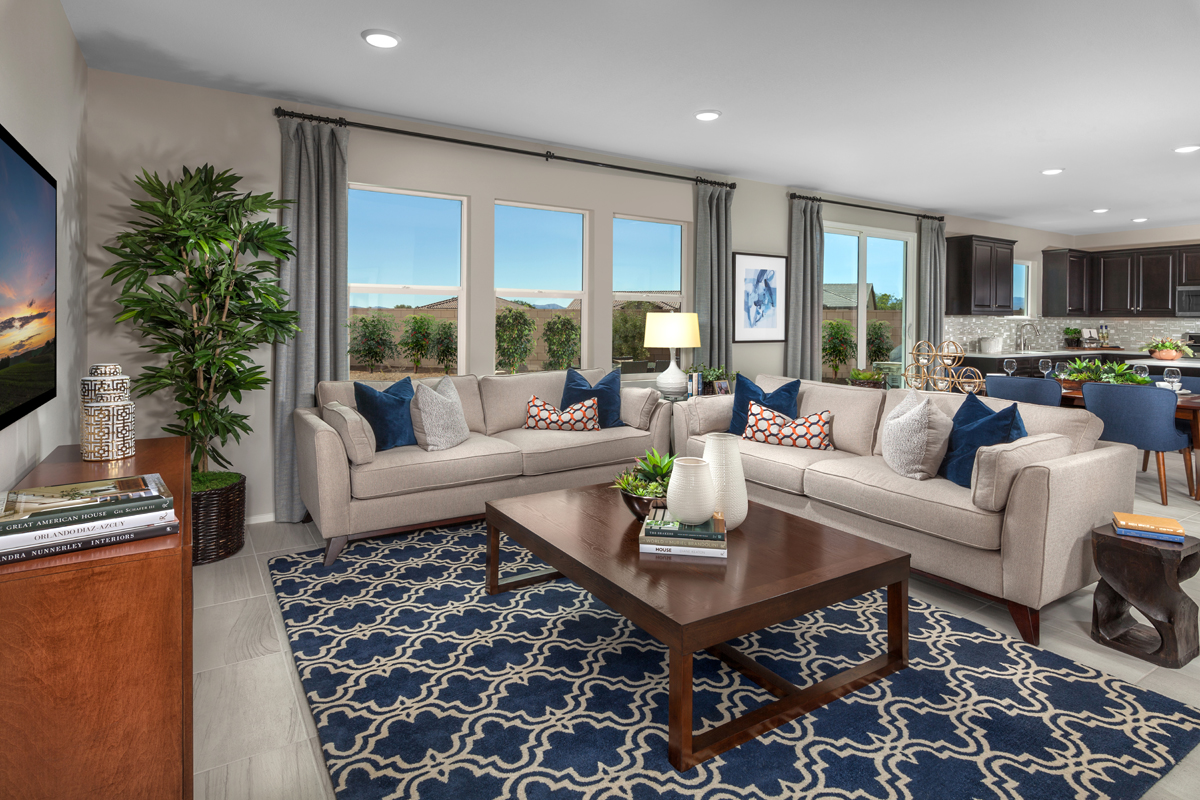 New Homes in Victorville, CA - Falcon Ridge Residence 2537 - Great Room