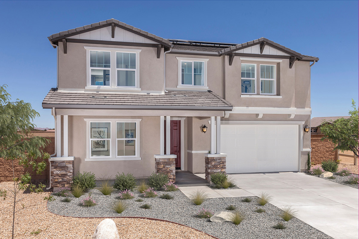 New Homes in Victorville, CA - Residence 2537 Modeled