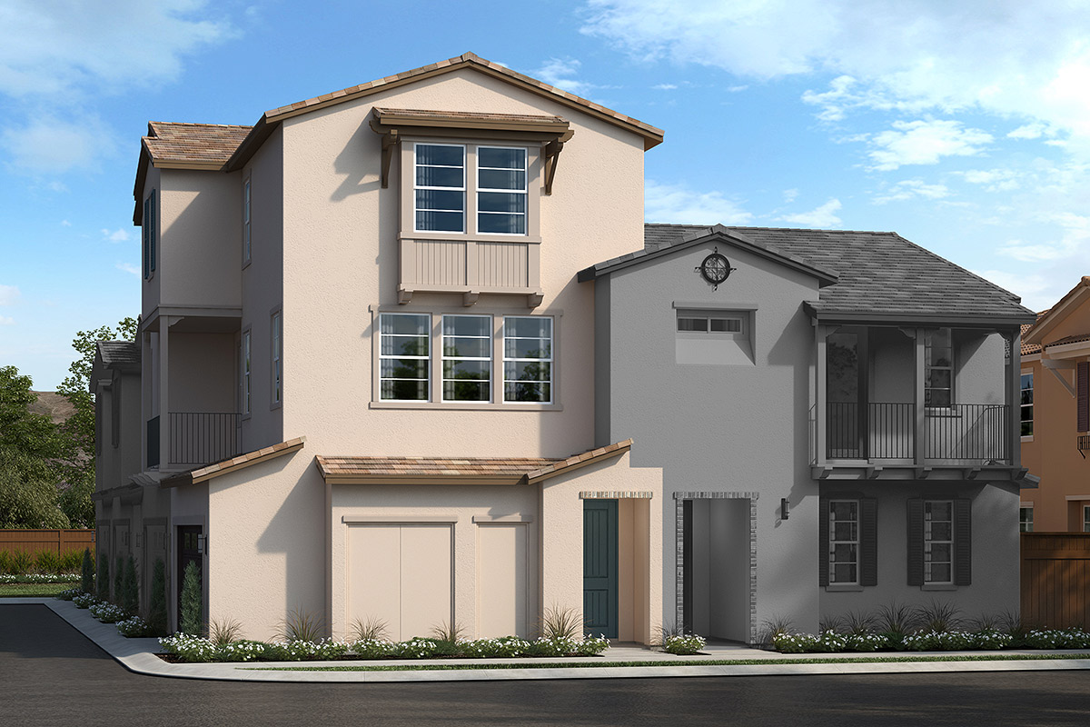 New Homes in Upland, CA - Elevation B