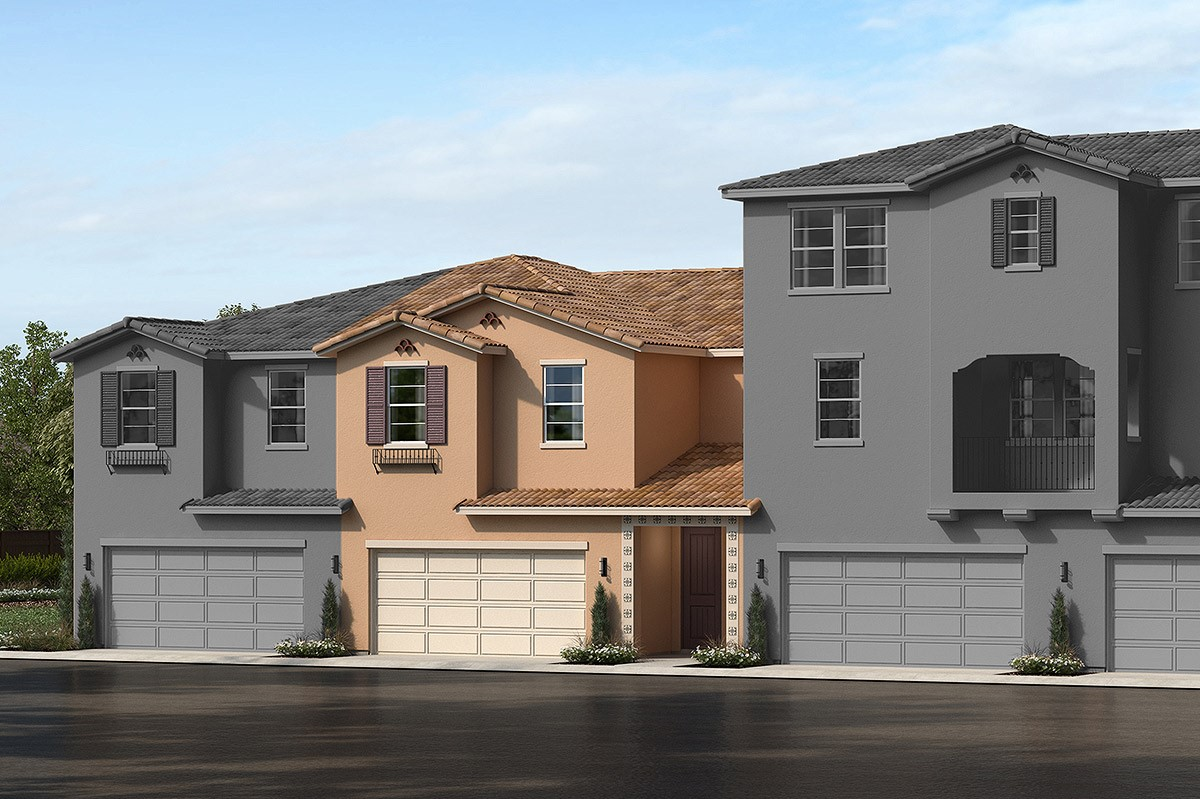 New Homes in Upland, CA - La Cresta at Sycamore Hills Plan 1832 Elevation A